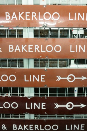 Living in Kensal Green these days, I'm all about the Bakerloo now.