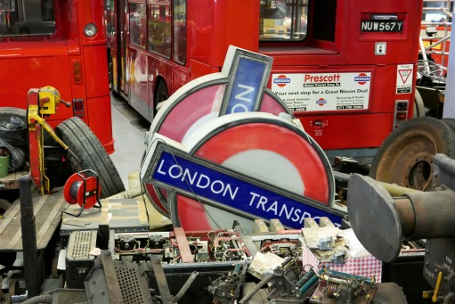 In the late 1940s the words London Underground were removed from tube stations and replaced with London Transport signage to emphasise the joined up network that encompassed trains, buses and trams. The rebrand didn't last long however and the London Underground name returned to the network within a decade.