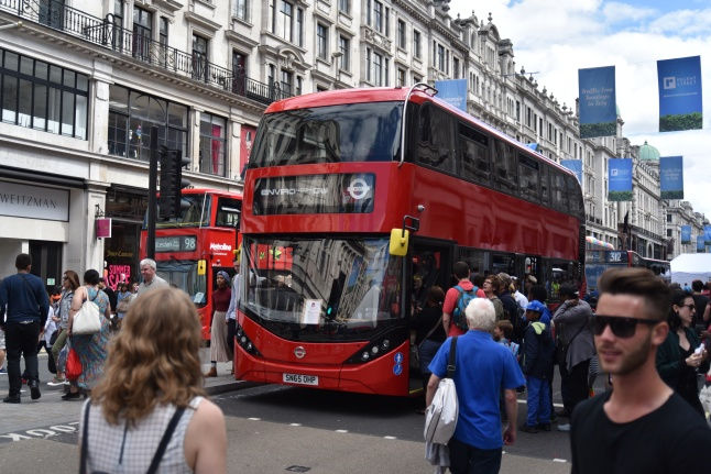 "One of the new ""inspired by the New Bus for London"" models."
