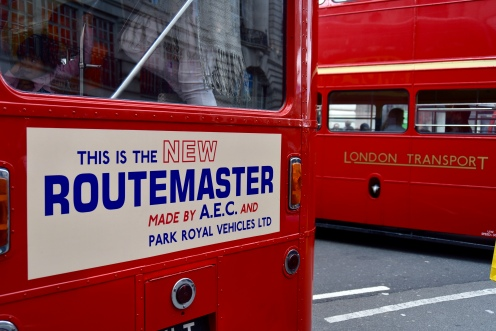 Ahh, when the old Routemasters were new...