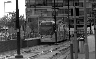 MediaCityUK Metrolink Stop