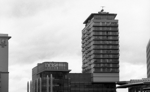 BBC Dock House and flats
